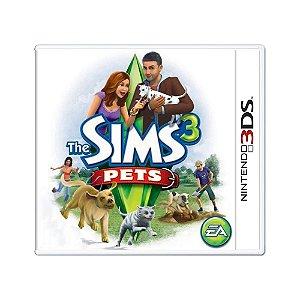 Jogo The Sims 3: Pets - 3DS