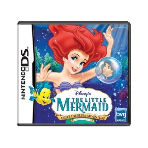Jogo Disney's The Little Mermaid: Ariel's Undersea Adventure - DS