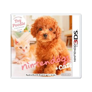 Jogo Nintendogs + Cats: Toy Poodle & New Friends - 3DS