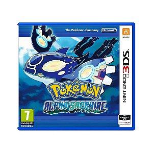 Jogo Pokemon Alpha Sapphire - 3DS (Europeu)