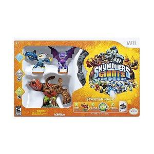 Jogo Skylanders Giants (Starter Pack) - Wii