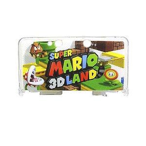 Case Protetora de Acrílico para Nintendo 3DS (Super Mario)