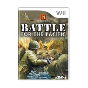 Jogo The History Channel: Battle for the Pacific - Wii