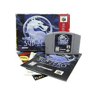 Jogo Mortal Kombat Mythologies: Sub Zero - N64