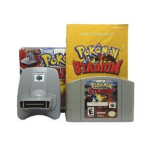 Jogo Pokémon Stadium + N64 Transfer Pak - N64