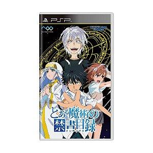 Jogo Toaru Majutsu no Index - PSP