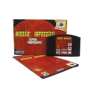 Jogo Missão: Impossível - N64