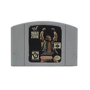 Jogo WWF War Zone - N64