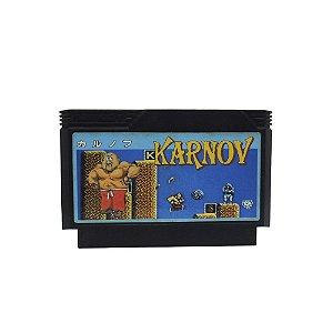 Jogo Karnov - NES (Japonês)