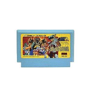 Jogo Saint Seiya: Ougon Densetsu Kanketsu Hen - NES (Japonês)