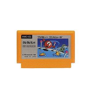 Jogo Clu Clu Land - NES (Japonês)