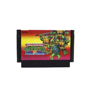 Jogo Teenage Mutant Ninja Turtles 2: The Manhattan Project - NES (Japonês)