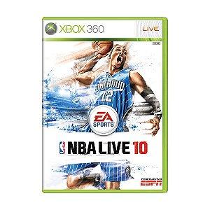 Jogo NBA Live 10 - Xbox 360