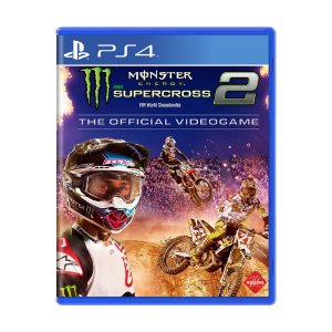 Jogo Monster Energy Supercross - The Official Videogame 2 - PS4