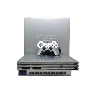 Console PlayStation 2 Fat Prata - Sony (Japonês)