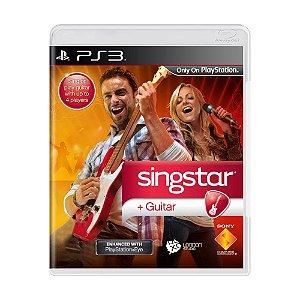 Jogo SingStar Guitar - PS3