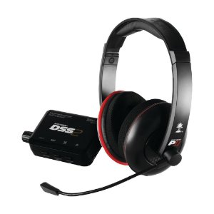 Headset Turtle Beach Ear Force DP11 Preto com fio - Multiplataforma