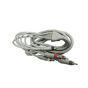 Cabo de Vídeo Componente Paralelo - Wii