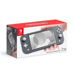 Console Nintendo Switch Lite Cinza - Nintendo