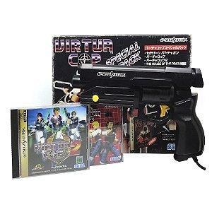 Jogo Virtua Cop Special Pack - Sega Saturn (Japonês)
