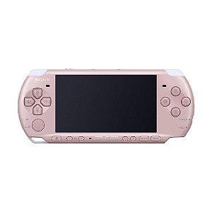 Console PSP PlayStation Portátil 3000 Rosa - Sony (Japonês)