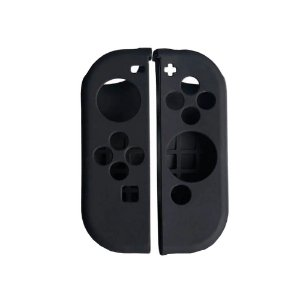 Capa de Silicone Preta para Joy-Con - Nintendo Switch
