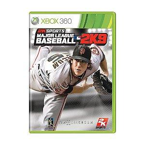 Jogo Major League Baseball 2K9 - Xbox 360
