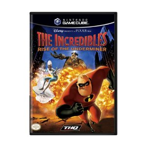Jogo The Incredibles: Rise of the Underminer - GameCube