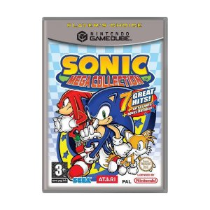 Jogo Sonic Mega Collection - GameCube (Europeu)
