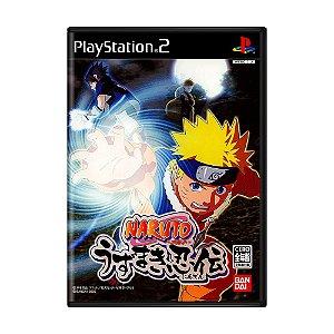 Jogo Naruto: Uzumaki Ninden - PS2 (Japonês)