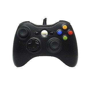Controle B-MAX Preto com fio - Xbox 360