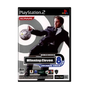 Jogo World Soccer Winning Eleven 8: Livenware Evolution - PS2 (Japonês)