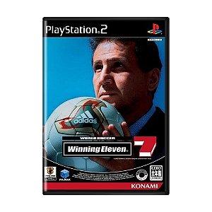 Jogo World Soccer Winning Eleven 7 - PS2 (Japonês)