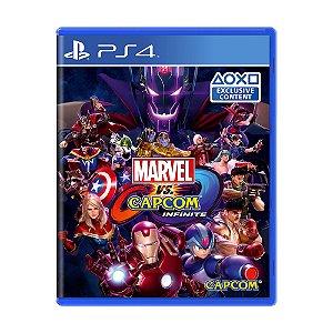 Jogo Marvel vs. Capcom: Infinite - PS4