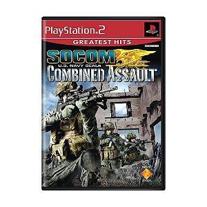 Jogo SOCOM U.S. Navy SEALs: Combined Assault - PS2