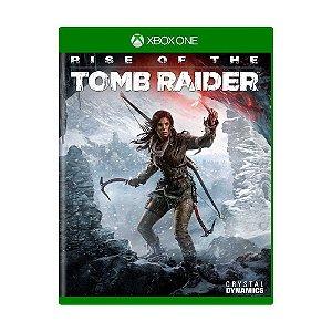 Jogo Rise of The Tomb Raider - Xbox One