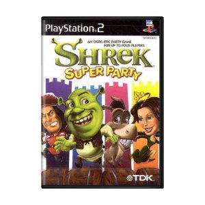 Jogo Shrek Super Party - PS2