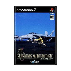 Jogo Energy Airforce Aim Strike! - PS2 (Japonês)