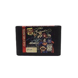 Jogo Justice League Task Force - Mega Drive