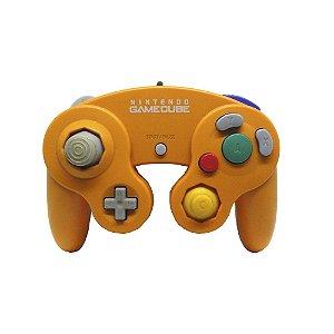 Controle GameCube Laranja com fio - Nintendo