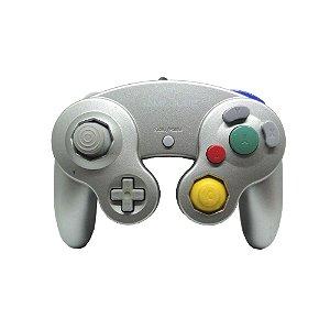 Controle GameCube Prata com fio - Nintendo