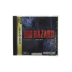 Jogo BioHazard - Sega Saturn (Japonês)