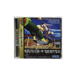 Jogo Virtua Fighter 2 - Sega Saturn (Japonês)