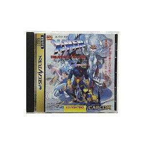 Jogo X-Men: Children of the Atom - Sega Saturn (Japonês)