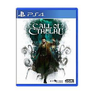 Jogo Call of Cthulhu - PS4