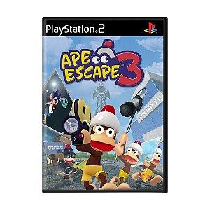 Jogo Ape Escape 3 - PS2