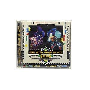 Jogo Sonic the Hedgehog CD - Sega CD (Japonês)