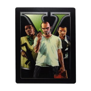 Jogo Grand Theft Auto V (SteelCase) - Xbox 360