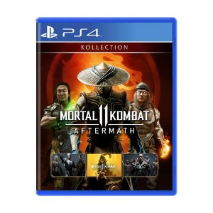 Jogo Mortal Kombat 11: Aftermath Kollection - PS4