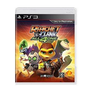 Jogo Ratchet and Clank: Todos Por Um - PS3